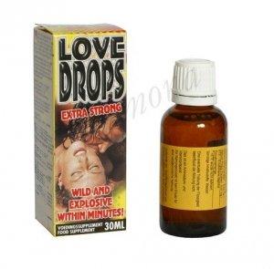 LOVE DROPS Extra Strong duże opakowanie 30ml