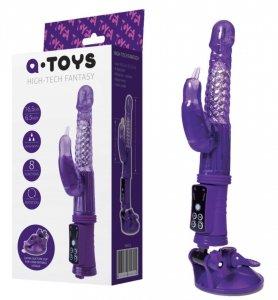 Wibrator Hi Tech A-Toys Fantasy z Króliczkiem i przyssawką