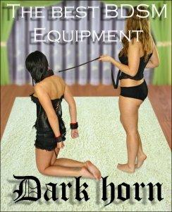 Dark Horn Goliat zestaw BDSM