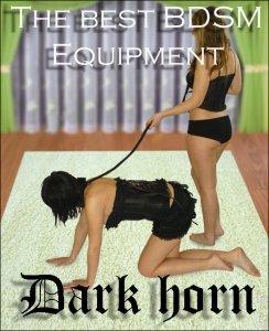 Dark Horn Orkan zestaw BDSM