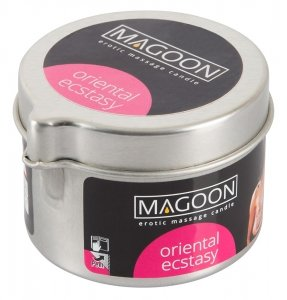 Magoon Oriental Ecstasy świeczka olejek do masażu