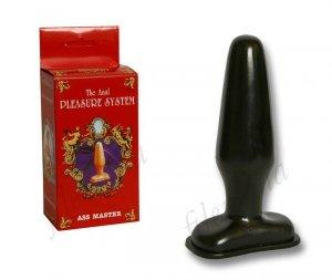 Pleasure System Black Power Klasyczna wtyczka analna