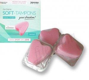 Soft-Tampons 3szt - czysty seks w czasie miesiączki - TAMPONY