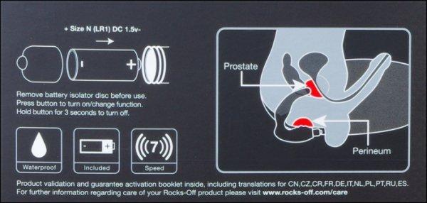 Naughty Boy Rocks - Off stymulator prostaty