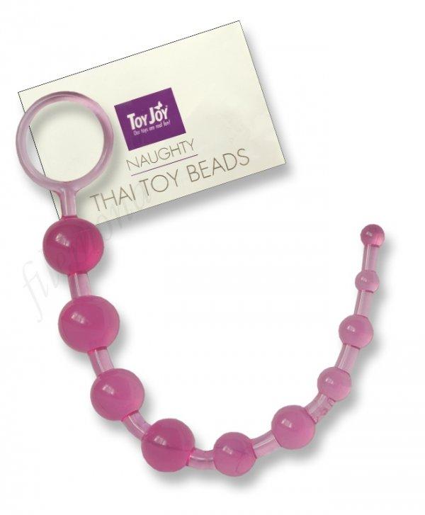 Koraliki analne Thai Pink Toy Joy bacik analny