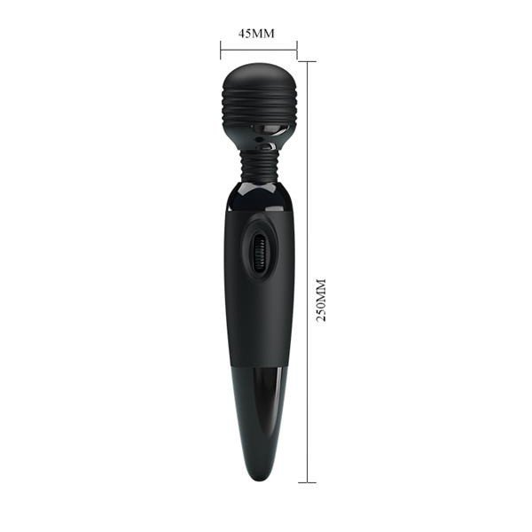 Power Wand Black wibrator mikrofon Pretty Love masażer