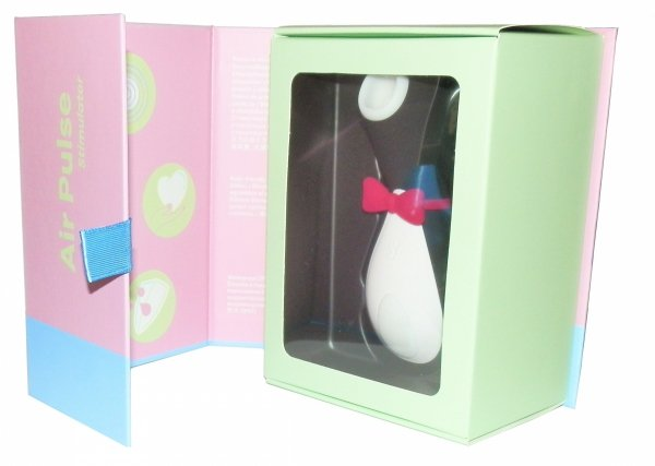 Pingwin Satisfyer Air Pulse stymulator opakowanie