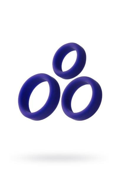 Silikonowe grube ringi erekcyjne A-Toys x3