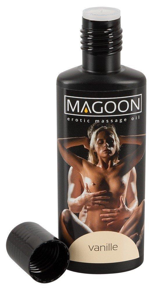 MAGOON VANILLE Olejek do masażu erotycznego butelka