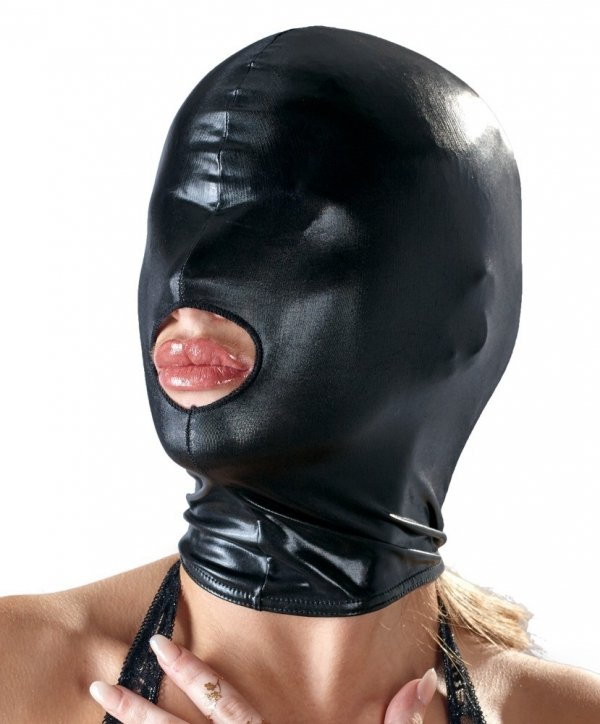 MASKA BDSM Bad Kitty Wetlook Blindfolded