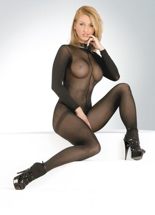 Bodystocking Catsuit Spitzen Mit modelka