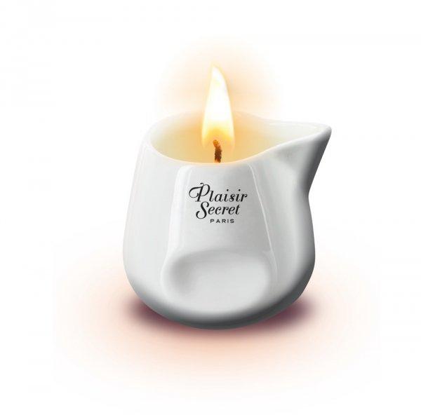 Plaisir Secret truskawkowa świeczka olejek do masażu