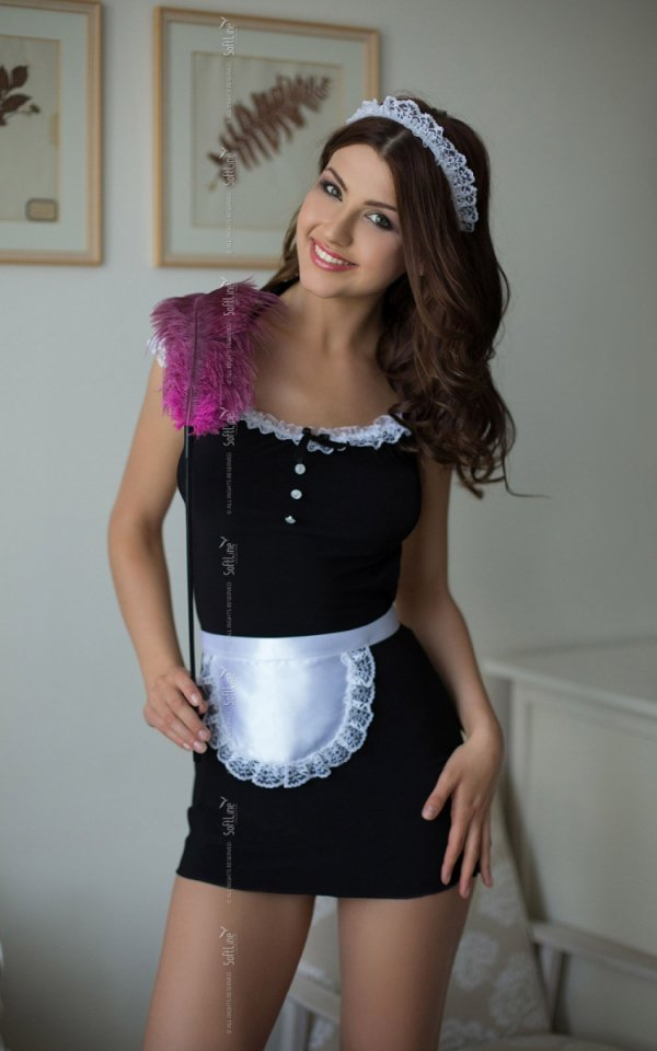 Kostium Sex Pokojówka STRÓJ JANE przód