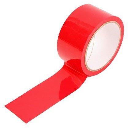 Taśma do krępowania Bondage Ribbon czerwona