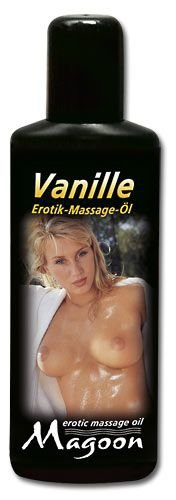 AMBRA MAGOON VANILLE Olejek do masażu erotycznego