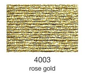 mulina Madeira Metallic 4-roze gold 4003