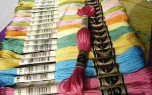 mulina w kolorch DMC - wybierz kolor