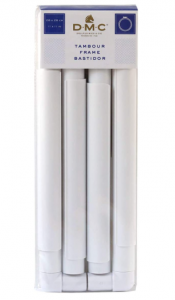 tamborek, ramka kwadratowa DMC 28x28