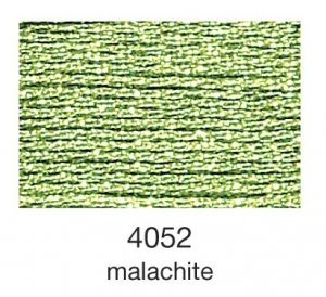 mulina Madeira Metallic 4-malachite 4052