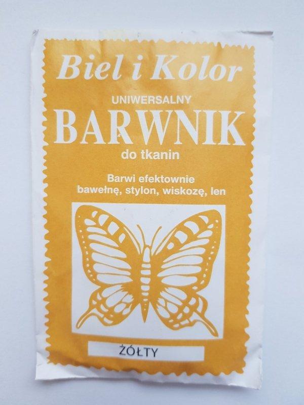 Barwnik - Biel i Kolor - żółty