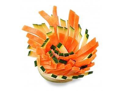 Sekrety dekoracji z warzyw i owoców  krok po kroku. 86 niesamowitych dekoracji