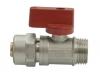 Zawór kulowy mini 1/2 CALA ze złączką NA PEX