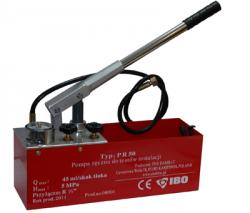 Pompa ręczna do prób ciśnień instalacji IBO PR50