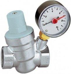Reduktor ciśnienia wody Goshe 1/2 z manometrem