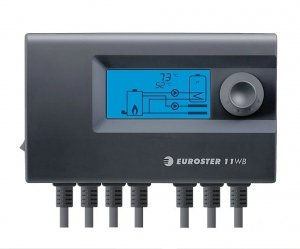 Sterownik kotła Euroster 11WB dmuchawa +2 pompy
