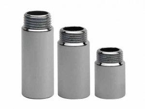 Przedłużka chromowana 1/2 40mm - 4 cm chrom