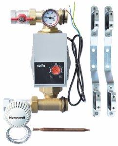 Grupa pompowa WILO 6M z zaworem termostatycznym Honeywell