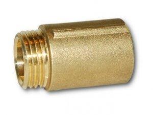 Przedłużka mosiężna 1 cal 25mm 2,5cm