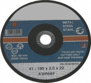 TARCZA DO CIĘCIA METALU 125X1,5mm