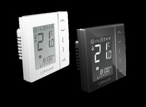 Regulator temperatury VS10BRF Salus CZARNY