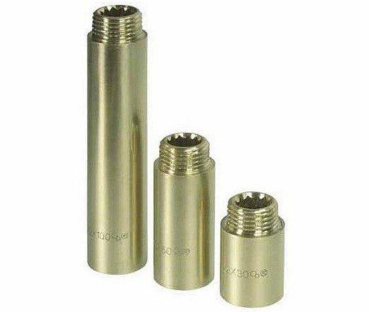Przedłużka mosiężna 3/4 cala 20mm