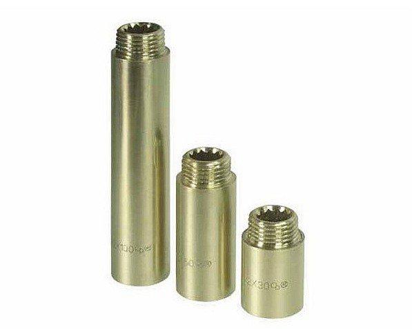 Przedłużka mosiężna 1/2 cala 50mm