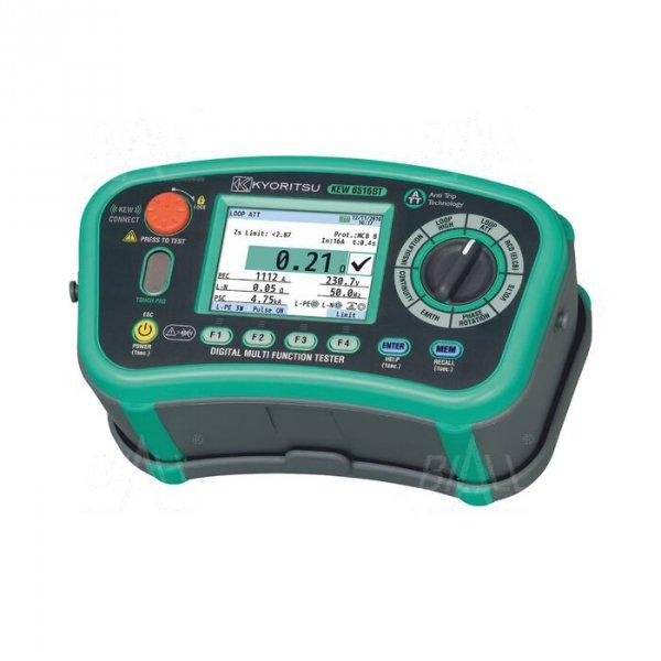 KEW6516BT Wielofunkcyjny miernik instalacji el. Bluetooth + świadectwo wzorcowania