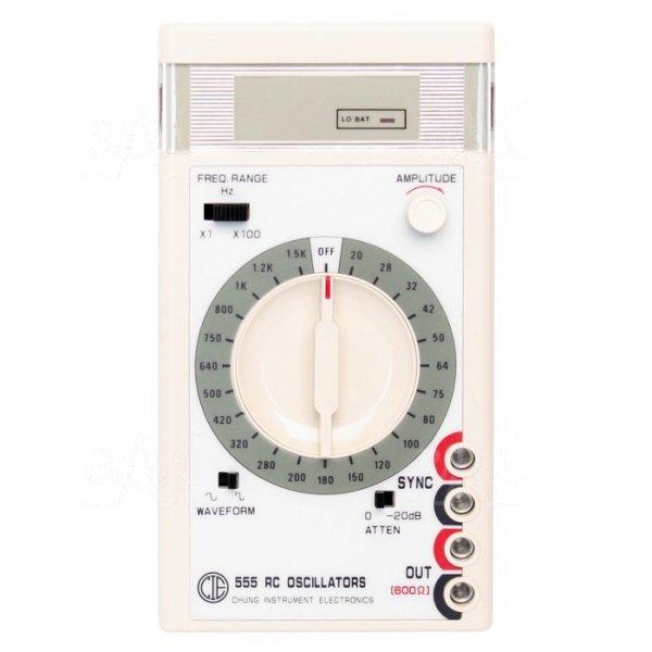 CIE555 Generator sygnałowy  20Hz-150kHz