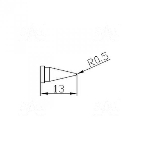 Grot 652 Stożek 0,5mm do LF2000/LF8800/LF853D