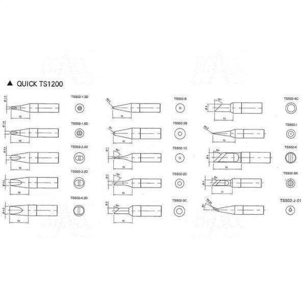 Grot TSS02-1.6D do Quick TS1200
