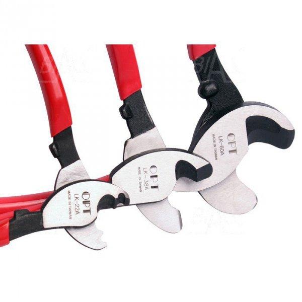 OPT LK60A/YYR513-301620 Nożyce do kabli Cu/Al 60mm2