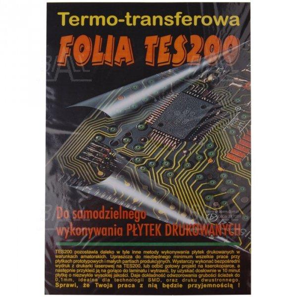 Folia transferowa do druku TES200 (5xA4 + instrukcja)