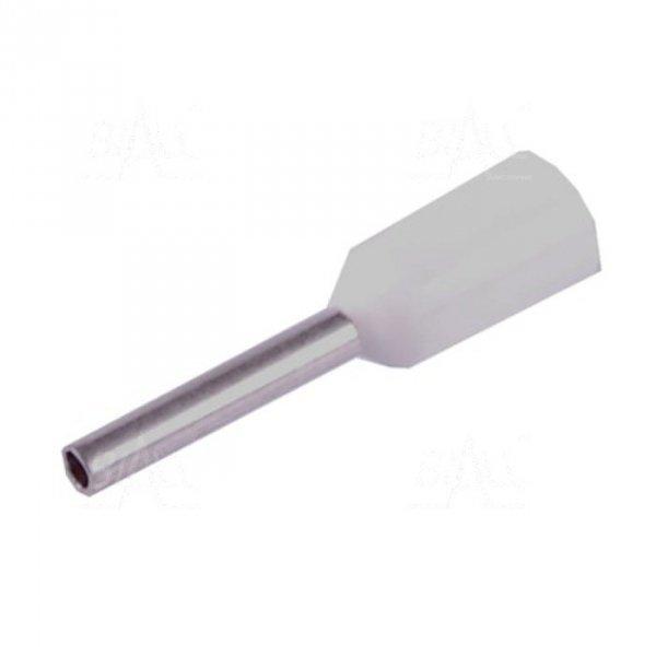 KR005008 WH Tulejka izolow. 0,5mm2x8    100szt