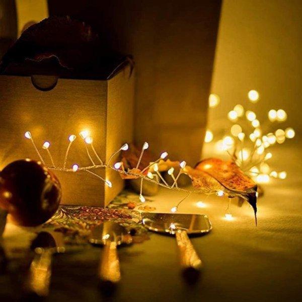 LAMPKI GĄSIENICA ŚWIETLNA 384 LED OŚWIETLENIE ŚWIĄTECZNE