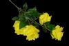 Róża na gałązce x 4 MIX - BXT1770