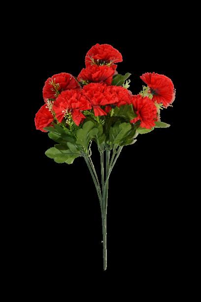 Bukiet goździków x 9 kwiatów MIX - 18Y086