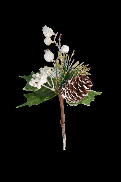 Pik dekoracyjny szyszka , owoce - BXT160