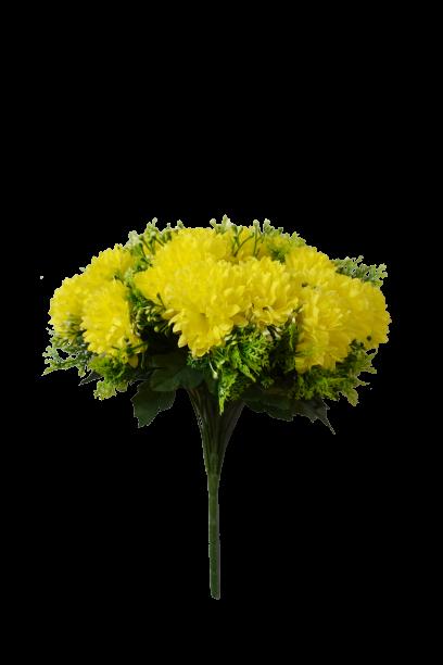 Bukiet chryzantema mała z dodatkami 24 kwiatów MIX - 20YW035