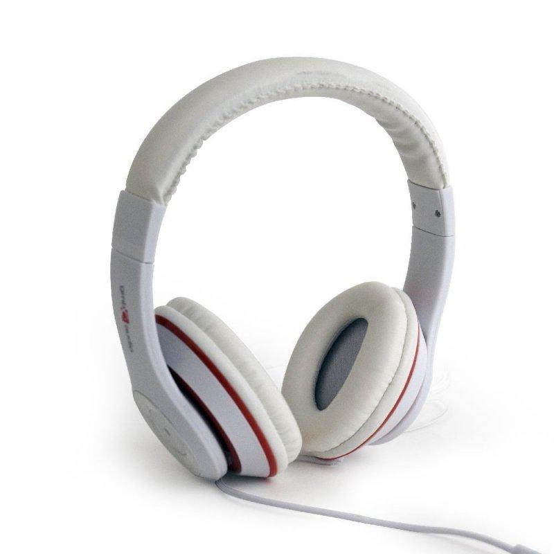 Gembird Słuchawki z mikrofonem Los Angeles Białe