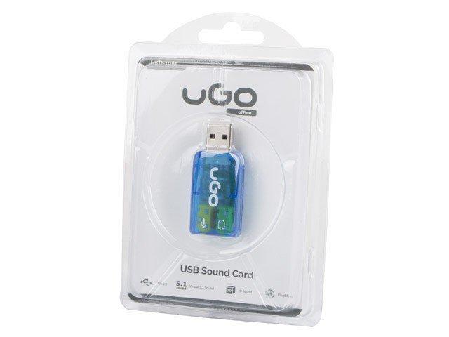 UGo Karta dźwiękowa 5.1 USB